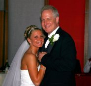 Daddy/Daughter dance at my wedding.