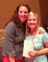 Meeting Jen Hatmaker, author of 7.  I love her.